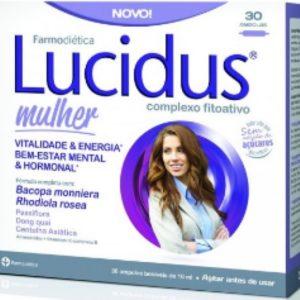 LUCIDUS MULHER 30 AMPOLAS