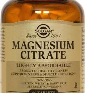 SOLGAR MAGNESIUM CITRATE 60TAB