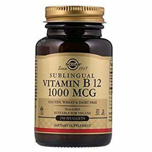 SOLGAR VITAMINA B12 250CAPS