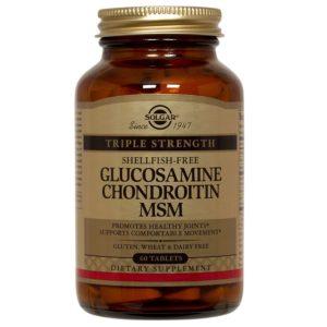 SOLGAR GLUCOSAMINA CONDRONTIMA MSM